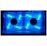 Vantec UV LED Blue Spectrum Fan Card
