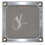 80mm Aluminum Mesh Fan Filter (Silver)