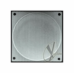80mm Steel Mesh Fan Grill Silver
