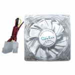 APEVIA 120mm 4pin Crystal Multicolor LED Case Fan