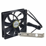 Scythe Slip Stream 120mm PWM Adjustable VR Case Fan