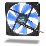Noiseblocker NB-BlackSilentFan XK2 140mm x 25mm Ultra Quiet Fan - 1100 RPM