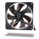 Noiseblocker NB-BlackSilentPro PK-1 140mm x 25mm Ultra Quiet Fan - 700 RPM