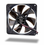 Noiseblocker NB-BlackSilentPro PK-3 140mm x 25mm Ultra Quiet Fan - 1700 RPM