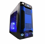 Apevia X-Sniper G Type Case - Blue