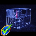 Sunbeam Acrylic UFO Cube Case - UV Blue