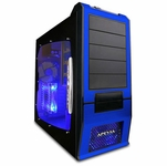 Apevia X-SUPRA G-Type Case w/Window - Blue