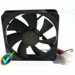 Yate Loon High Speed 120mm Fan (40dBa, 88CFM)