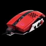 Thermaltake Level 10 M Gaming Mouse - Blazing Red