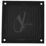 120mm Aluminum Mesh Fan Filter (Black)