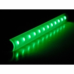 "Logisys 16"" Corner Light Bar - Green"