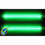 12in Dual Green Cold Cathode Kit