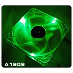 Thermaltake Thunderblade 80mm LED Fan (Green)