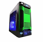 Apevia X-Sniper G Type Case - Green