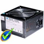 Sunbeam / CaseGears Black Steel 580W Hush Power Supply