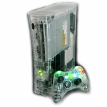 XCM Xbox 360 Diamond Clear Case /w HDMI Port