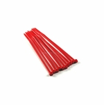 UV Red Zip Ties (Bag of 10)