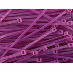 UV Purple Zip Ties (Bag of 10)