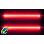12in Dual Red Cold Cathode Kit