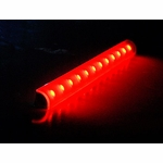 "Logisys 8"" Corner Light Bar - Red"