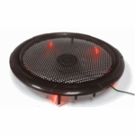 250mm Silent Case Fan - Red LED