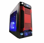 Apevia X-Sniper G Type Case - Red