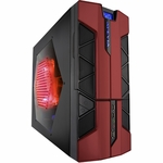 Apevia X-Plorer2 Case - Red