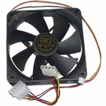 Yate Loon Low Speed 120mm Fan (28dBa, 47CFM)