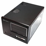 Silverstone Sugo SG01-Evolution Case w/ Window - Black
