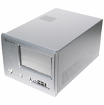 Silverstone Sugo SG01-Evolution Case w/ Window - Silver