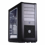Silverstone FT01 Fortress Case - Black w/ Side Window