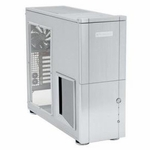 Silverstone TJ-10 Case w/ Window - Silver