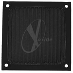 80mm Aluminum Mesh Fan Filter (Black)