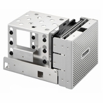 Lian Li EX-34NA Extension HDD Kit - Silver