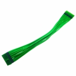 mod/smart Kobra Cables 20pin Motherboard Power Extension (UV Green) 24 Inch