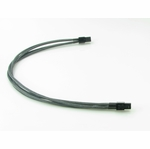 mod/smart Kobra Cables 4pin P4 Extension (Carbon Fiber) 24 Inch