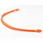 mod/smart Kobra Cables 4pin P4 Extension (UV Orange) 24 Inch