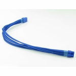mod/smart Kobra Cables 8pin PCI-E Extension (UV Blue) 24 Inch