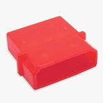 Male 4-pin Molex Connector Housing - UV Red