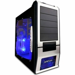 Apevia X-SUPRA G-Type Case w/Window - Silver