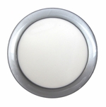 DEMCiflex 92 Magnetic Fan Dust Filter Round - Metallic Silver