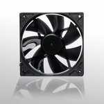 Noiseblocker NB-BlackSilentPro PLPS 120mm x 25mm Ultra Quiet PWM Fan - 600-1500 RPM