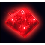 Logisys Pyramid Thermal Fan Controller (Red)