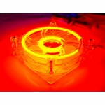 Logisys 120mm Cold Cathode Fan - Red