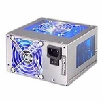 Aerocool AeroPower II+ 350 Watt Power Supply - Silver / Blue
