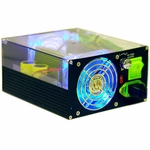 Apevia 500W UV Reactive Power Supply 24pin w/ SATA - Black