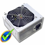 Logisys 550w Power Supply w/ 120mm Ball Bearing Fan