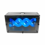 FrozenQ Fusion Dual Bay Black Acetal Reservoir - UV Blue