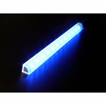 "Logisys 8"" Corner Light Bar - Blue"