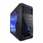 Apevia X-Dreamer 4 Metal Case w/ Side Window - Blue